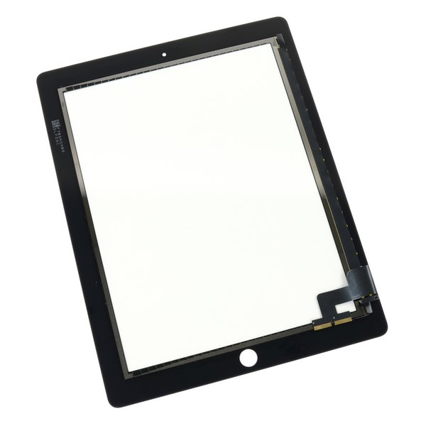 iPad 2 Front Glass/Digitizer Touch Panel / New / Part Only / Black / Without Adhesive Strips