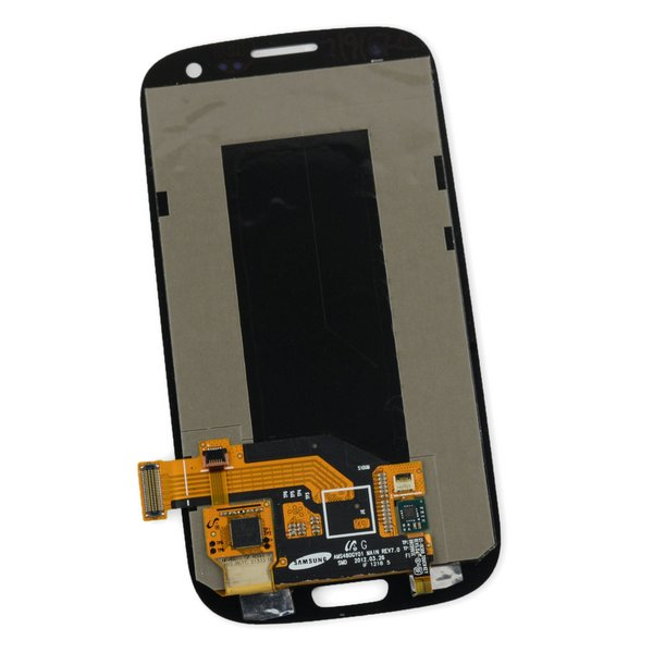 Galaxy S III Screen and Digitizer (no Midframe) / Blue
