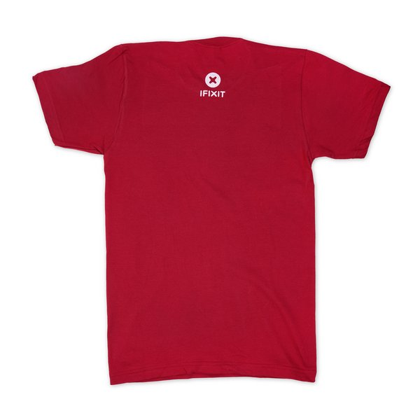 Never Take Broken T-Shirt / Men's Small / Cranberry