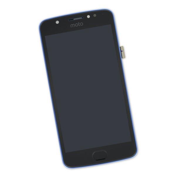 Moto E4 (XT1766) Screen / Blue / Part Only