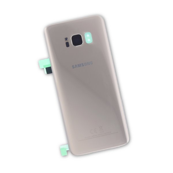Galaxy S8 Rear Glass Panel/Cover - Original / Gold / New / Part Only