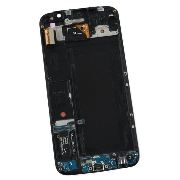 Galaxy S6 LCD Screen and Digitizer Assembly (Verizon) / Gold / A-Stock