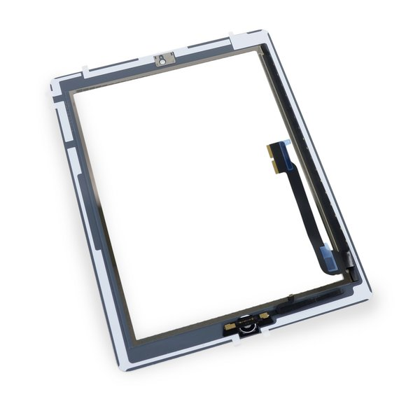iPad 4 Front Glass/Digitizer Touch Panel Full Assembly / New / Part Only / White