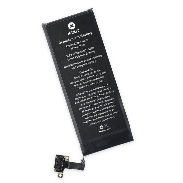 replace battery iphone 4s iphone 4s replacement battery ifixit 1582