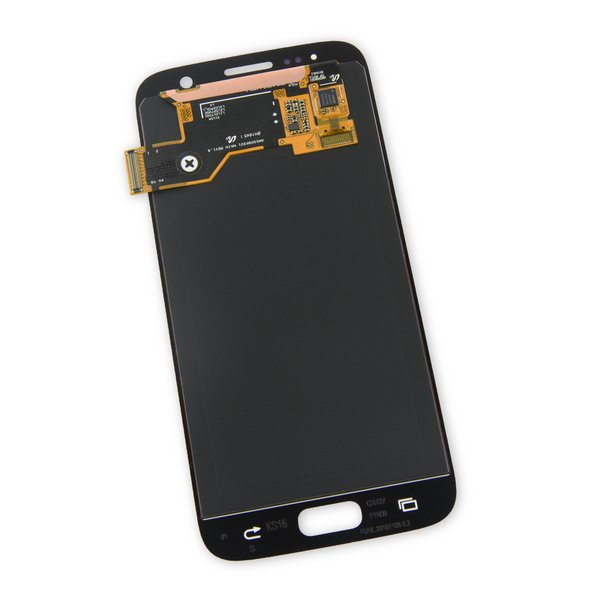 Galaxy S7 LCD Screen and Digitizer / Black / Part Only