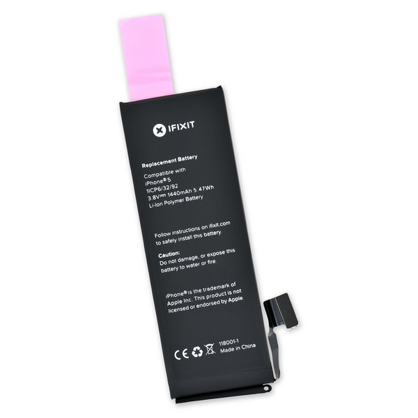 iPhone 5 Replacement Battery / Part and Adhesive