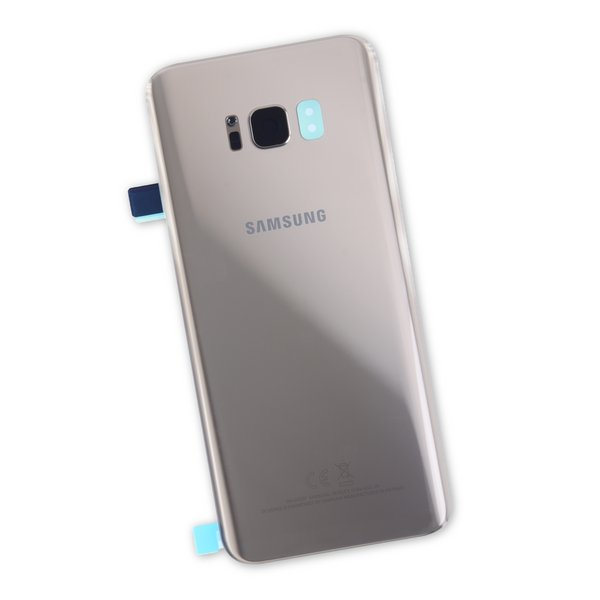 Galaxy S8+ Rear Glass Panel/Cover - Original / Gold / Part Only