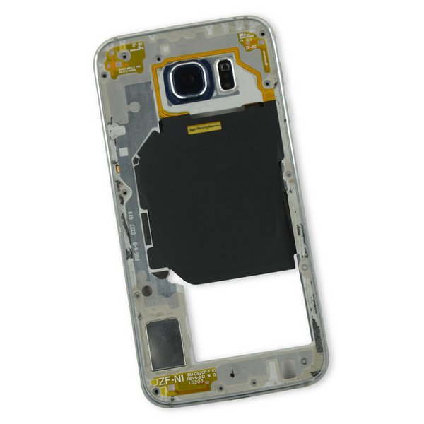 Galaxy S6 Midframe (Sprint) / White / A-Stock