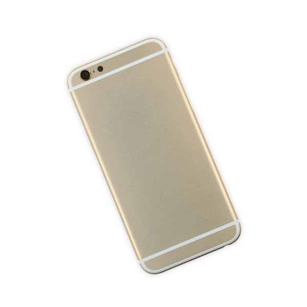 iPhone 6 Blank Rear Case / Gold