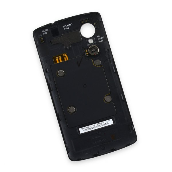 Nexus 5 Rear Panel / Black / A-Stock