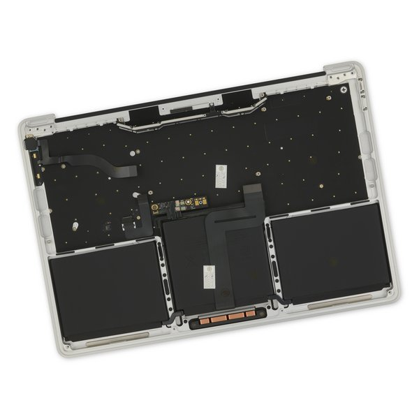 """MacBook Pro 13"""" Retina (Function Keys, Late 2016-2017) Upper Case Assembly / A-Stock / Silver"""