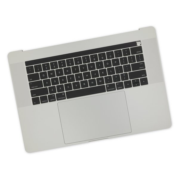"""MacBook Pro 15"""" Retina (Late 2016-2017) Upper Case Assembly / New / Silver"""