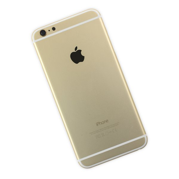 iPhone 6 Plus OEM Rear Case / Gold / B-Stock