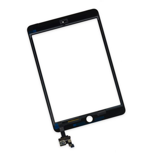 iPad mini 3 Front Glass/Digitizer Touch Panel / New / Part Only / Black