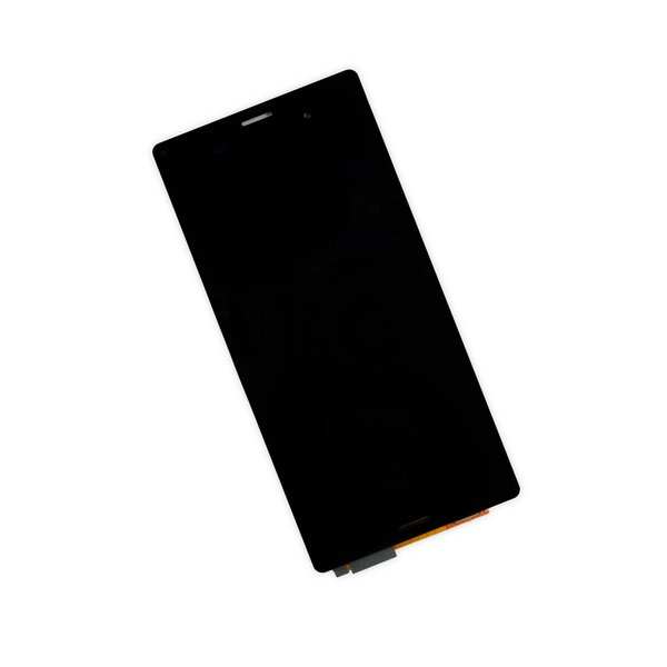 Sony Xperia Z3 and Z3 Dual LCD Screen and Digitizer / Black / Part Only