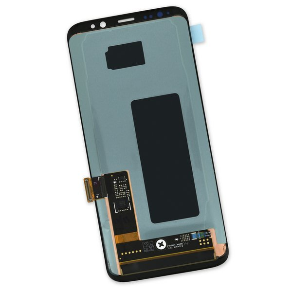 Galaxy S8 Screen / Black / Part Only