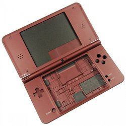 Nintendo DSi XL Outer Shell / Burgundy / A-Stock