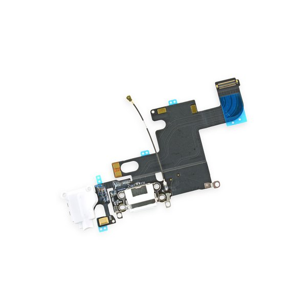 new product a0d21 98eab iPhone 6 Lightning Connector and Headphone Jack - Gray / New / Fix Kit /  White / New / Fix Kit / Gray / New / Part Only / White / New / Part Only /  ...