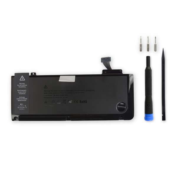 "MacBook Pro 13"" Unibody (Mid 2009-Mid 2012) Replacement Battery / Fix Kit"