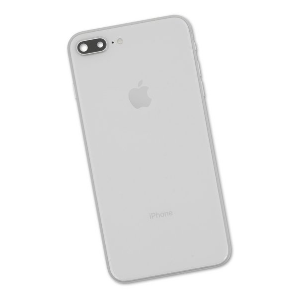 iPhone 8 Plus OEM Rear Case / Silver / A-Stock
