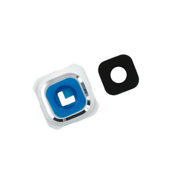 Galaxy S6 Edge+ Rear Camera Bezel & Lens Cover / White
