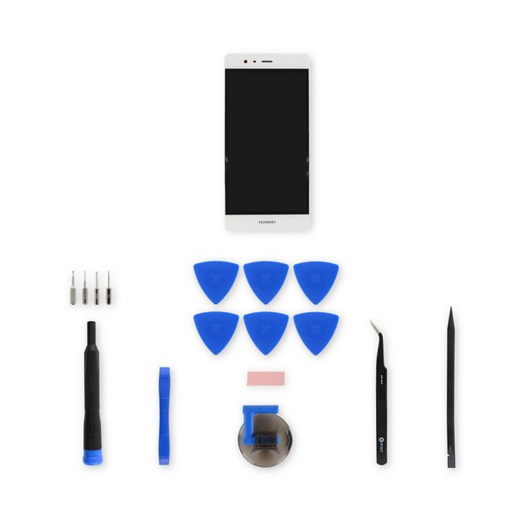 Huawei P9 Screen / White / Fix Kit