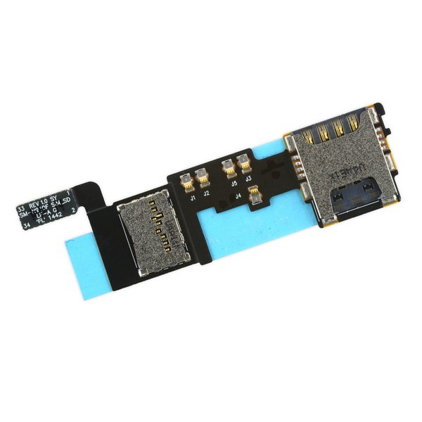 Galaxy Note 4 SIM and SD Card Slot Assembly