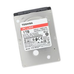 "1 TB 5400 RPM 2.5"" Hard Drive / Toshiba"
