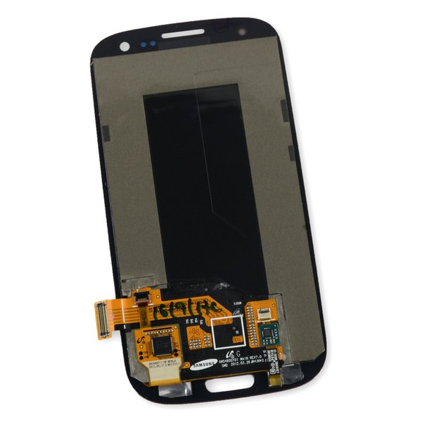 Galaxy S III Screen and Digitizer (no Midframe) / Red
