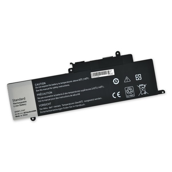Dell Inspiron 11 3157, Inspiron 13 7348, 7352, and 7353 Replacement Battery / Part Only / New