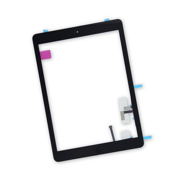 iPad Air Screen Digitizer / New / Part Only / Black