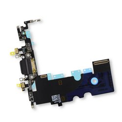 iPhone 8 Lightning Connector Assembly / Black / Part Only