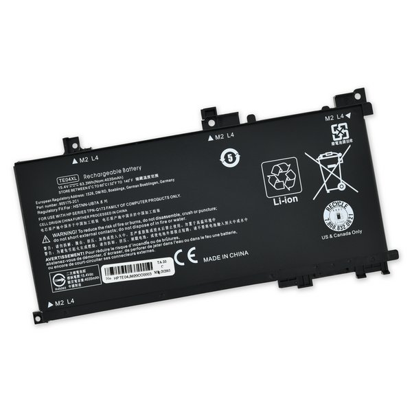 HP Omen 15 Replacement Battery / Part Only