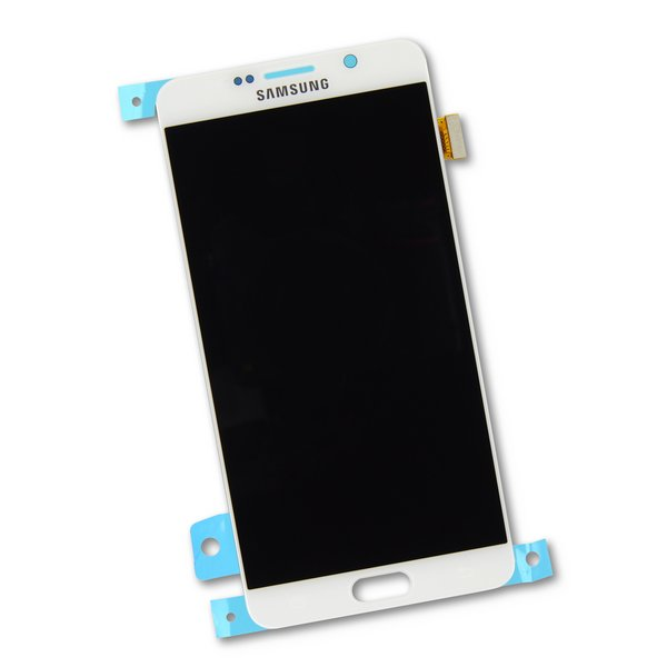 Galaxy Note5 LCD Screen and Digitizer / White / Part Only
