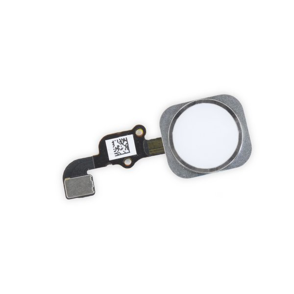 iPhone 6s Home Button Assembly / New / Silver / Part Only