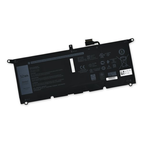 Dell XPS 13 7390, 9370, and 9380 Replacement Battery / Part Only