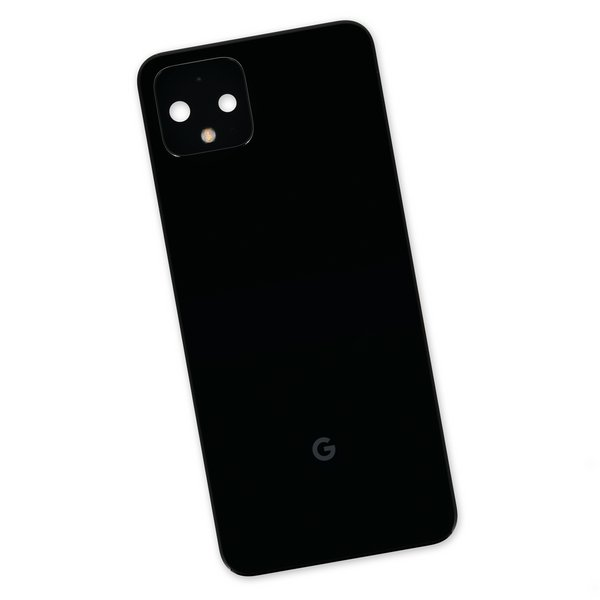 Google Pixel 4 Back Panel Assembly / Black