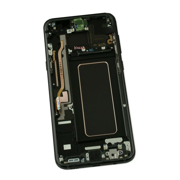 Galaxy S8+ Screen and Digitizer Assembly / New / Black / Part Only
