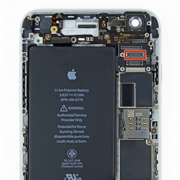 iPhone 6 Plus LCD FPC Connector (J2019)
