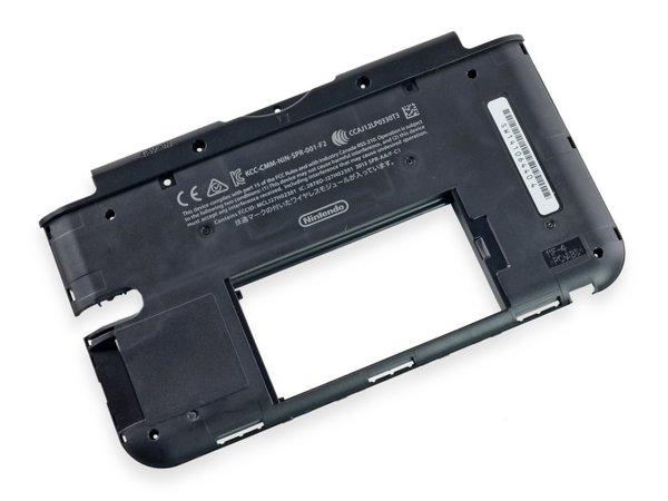 Nintendo 3DS XL Midframe / Black / A-Stock