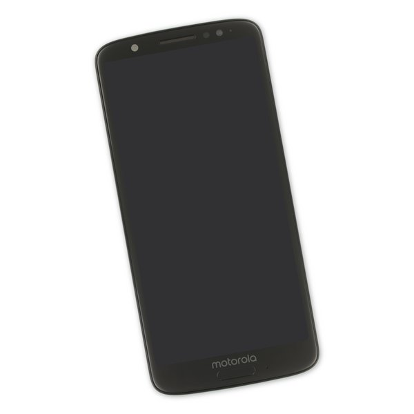 Moto G6 Screen / Black / Part Only
