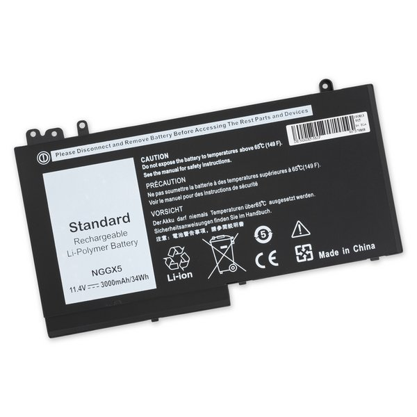 Dell Lattitude E5270 Replacement Laptop Battery / Part Only