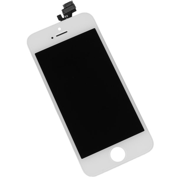 iPhone 5 LCD and Digitizer / New, Premium / Part Only / White
