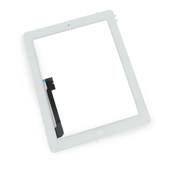 iPad 3 Front Glass/Digitizer Touch Panel Full Assembly / New / Part Only / White