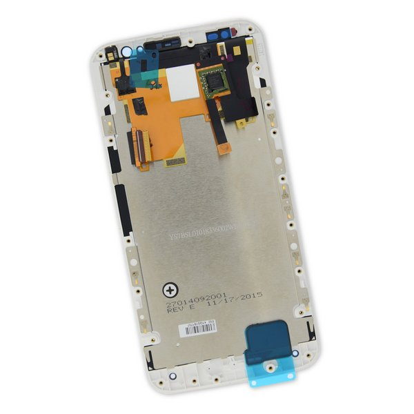 Moto X Pure Edition Screen / White / Part Only