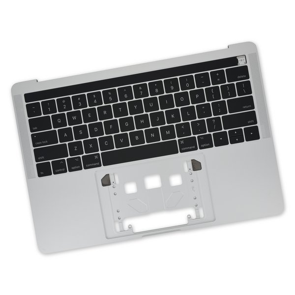 "MacBook Pro 13"" Retina (Touch Bar, Late 2016-2017) Upper Case / New / Silver"