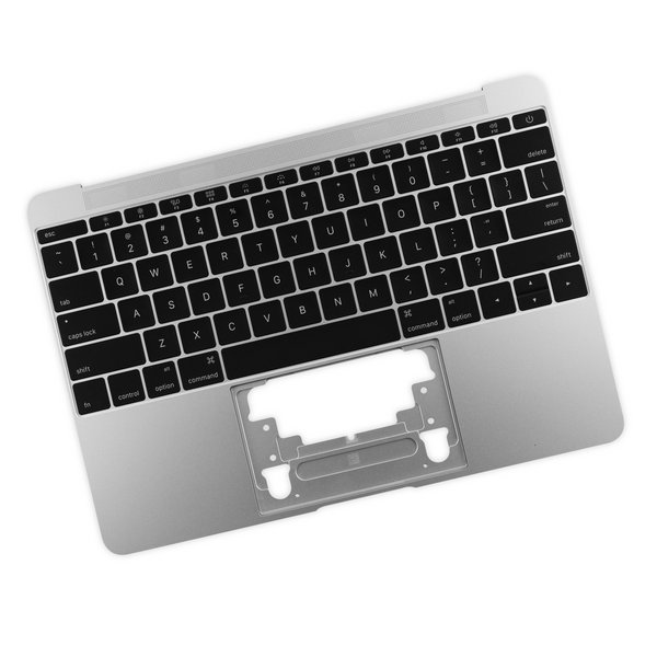 "MacBook 12"" Retina (Early 2015) Upper Case with Keyboard / A-Stock / Silver"