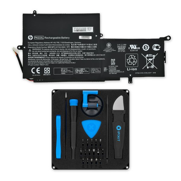 HP Spectre x360 13 Replacement Battery / Fix Kit