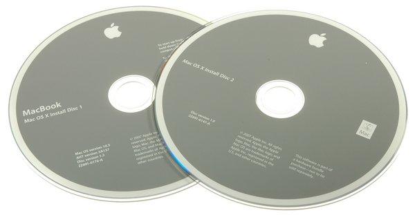 MacBook (Santa Rosa) Restore DVDs