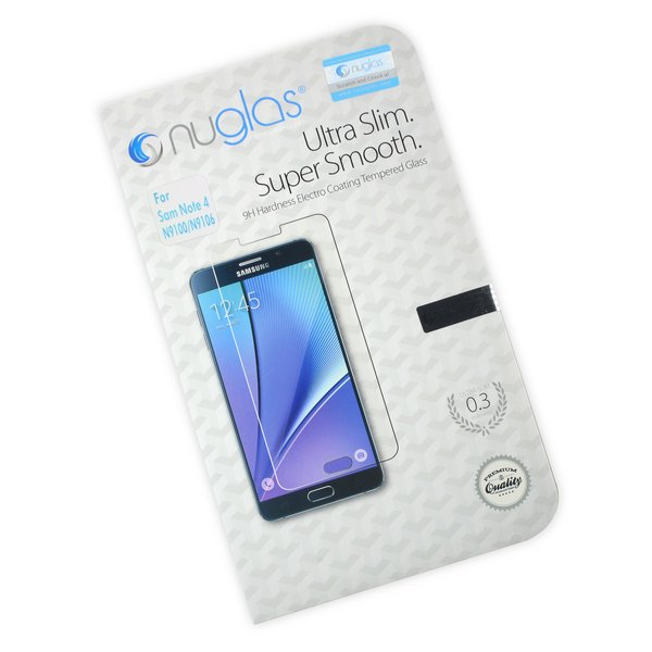 NuGlas Tempered Glass Screen Protector for Galaxy Note 4